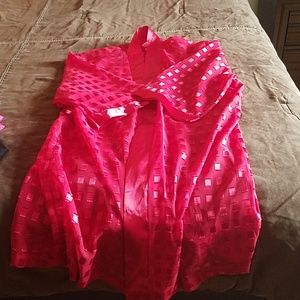 Red Women's Robe